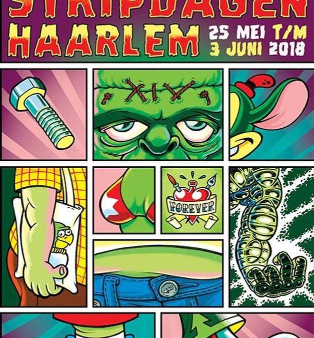 De buit van live tekenen bij Stripdagen Haarlem