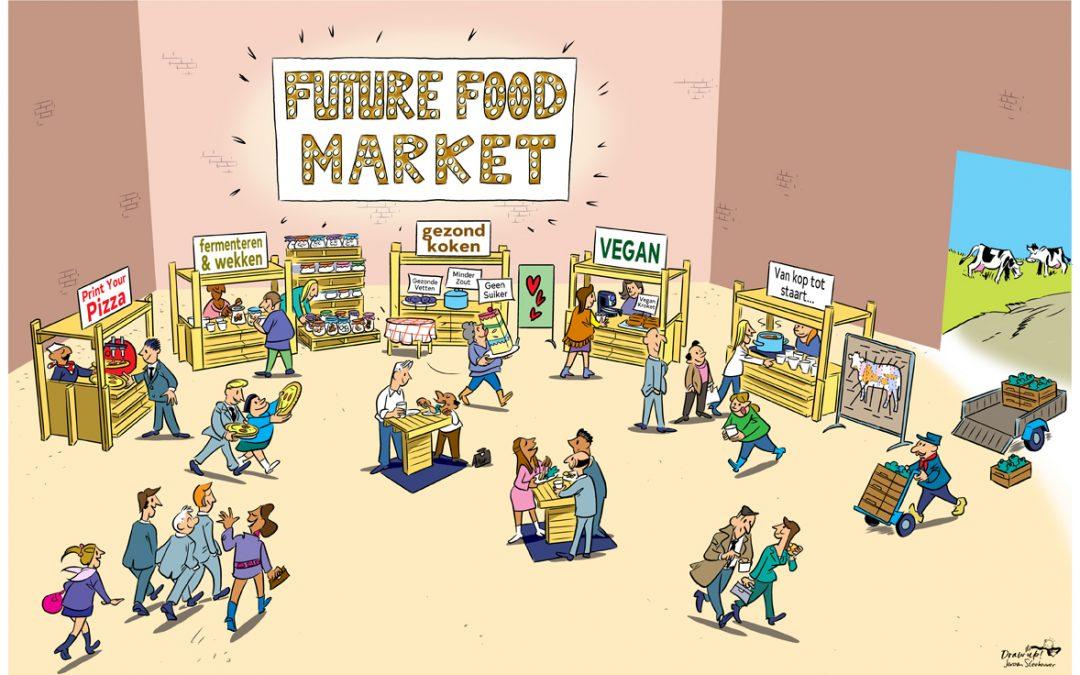 Kijkplaat Future Food Market.