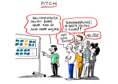 Cartoon | Pitch | Jeroen Steehouwer