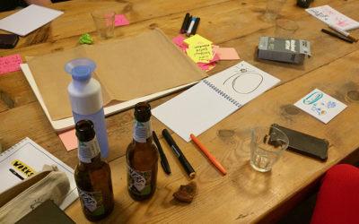 Tips, Flops en Tops try out Tekenen op de Draw up!-manier