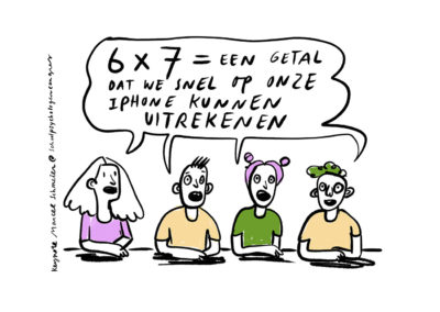 I phone | Live cartoon | Anne Stalinsky