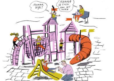 Werkende Moeder | Praatplaat | Anne Stalinsky