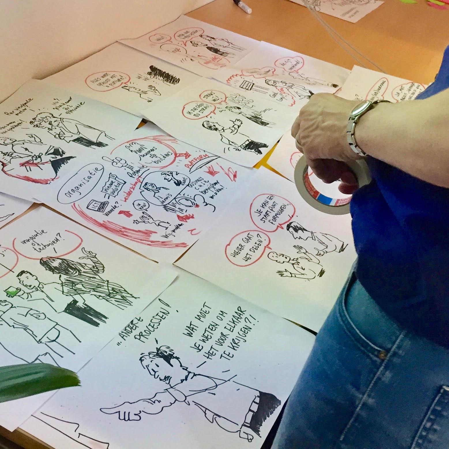 brainstorm-diverse illustraties